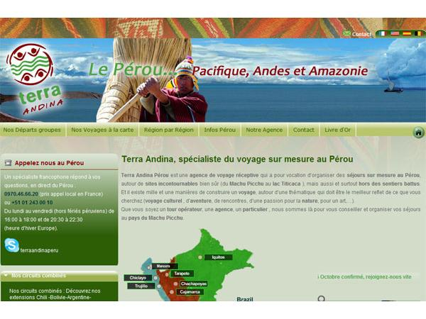 Terra Andina Perou, agence de voyage à la carte au Perou.