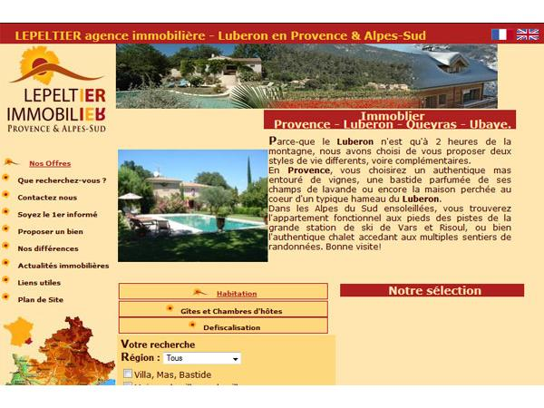 Lepeltier Immobilier - Provence & Alpes-Sud