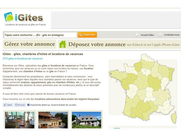 Gites et locations en France