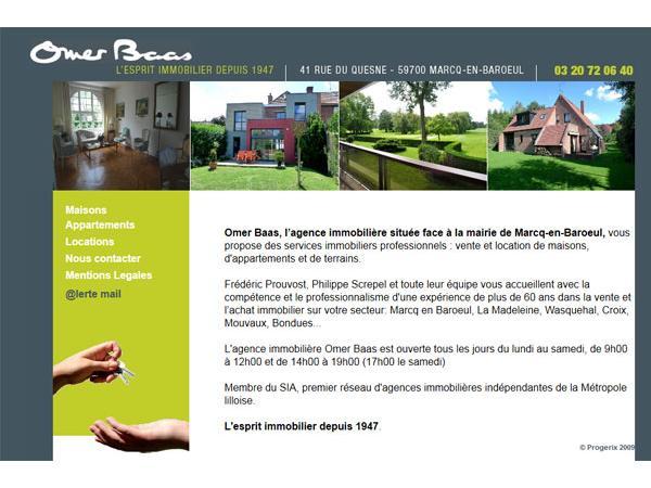 Omer Baas Immobilier Marcq en Baroeul