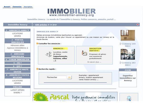 Annecy Immobilier Haute Savoie