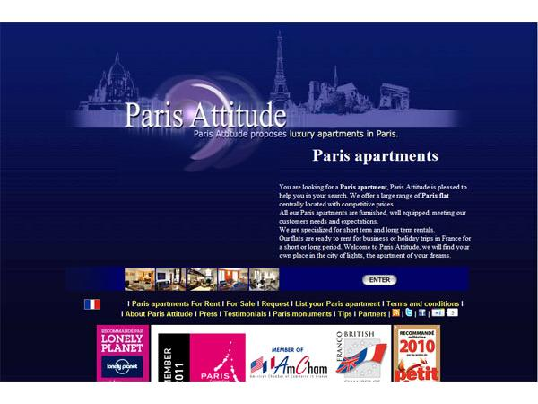 Paris Attitude : Apartments in paris