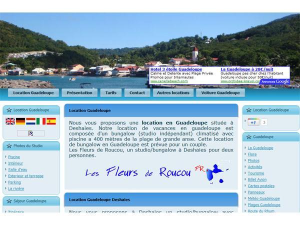Location vacances Guadeloupe Deshaies