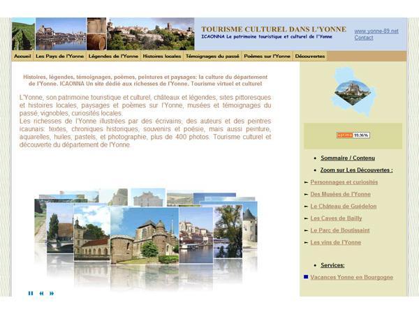 yonne-89 - Tourisme culturel dans l'Yonne (89)