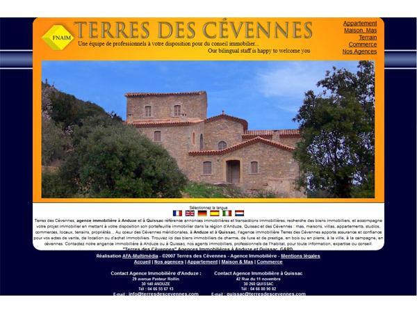 Terres des Cévennes - Agence immobilièrere à Anduze, Gard