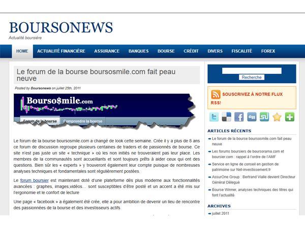 BourSonews
