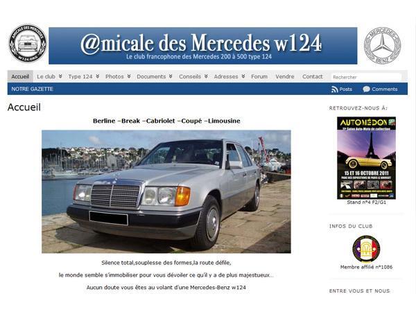 Amicale des Mercedes w124 (200 à 500)
