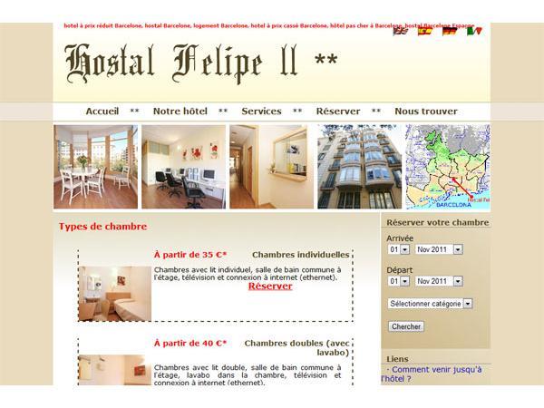Barcelone - Hostal Felipe II - Barcelone