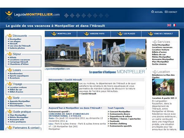 Guide tourisme : Montpellier & Hérault