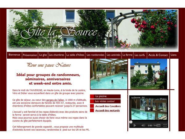 Gite La Source en Haute Loire