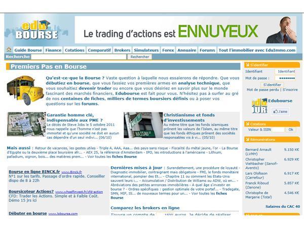 Edubourse - La Bourse enfin facile d'accès