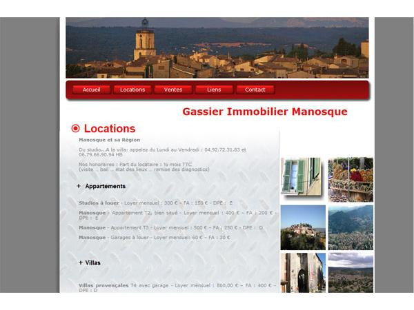 Gassier immobilier Manosque