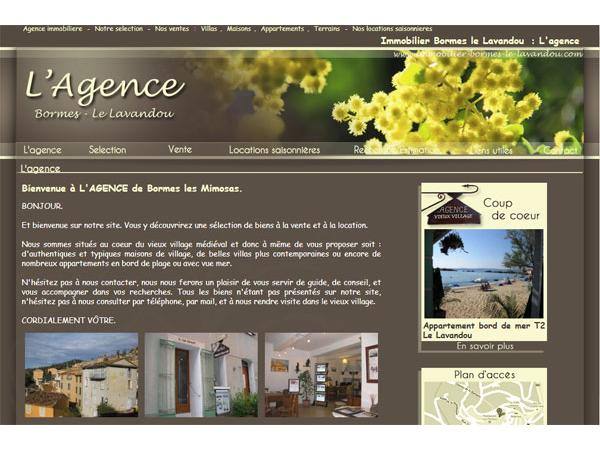 Agence immobiliere bormes