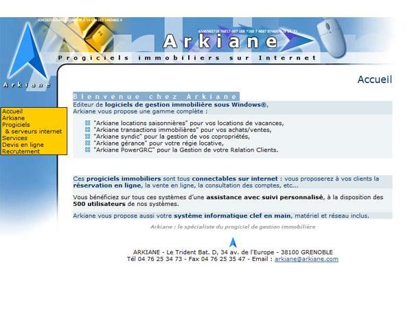 Arkiane - Editeur de logiciels immobilier