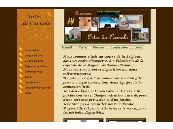 Gîte du Curnolo près de Namur en Belgique