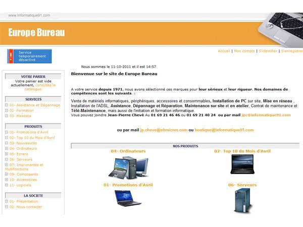 Revendeur de materiel informatique maxdata ordinateur pc ecran belinea