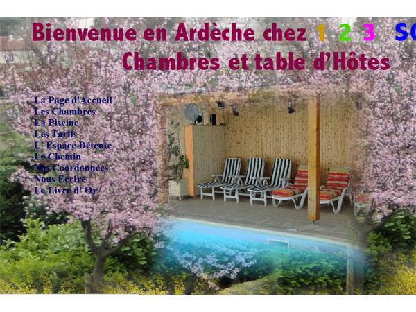 chambres et table d'hôtes en Ardèche