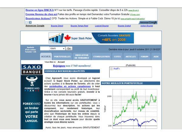 Investir à la Bourse de Toronto