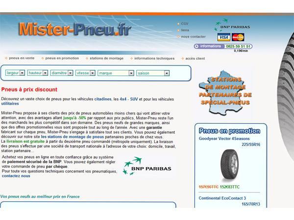 Spécial pneus