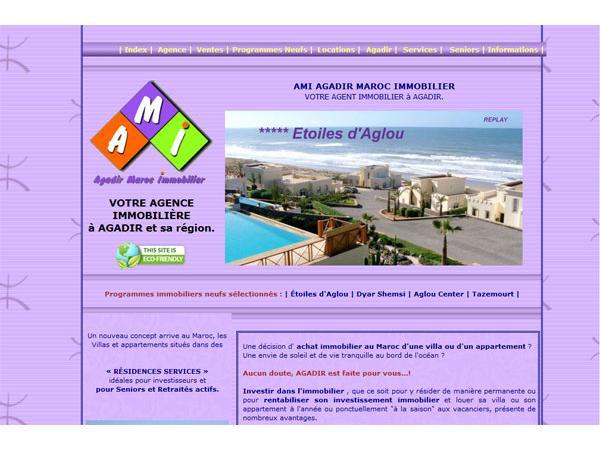 Agadir Maroc Immobilier : Agence AMI