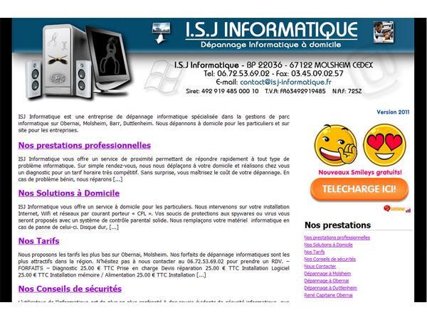 ISJ Informatique obernai