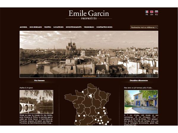 Emile Garcin Immobilier