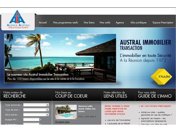 Agence Austral Immobilier  a l ile de la Reunion
