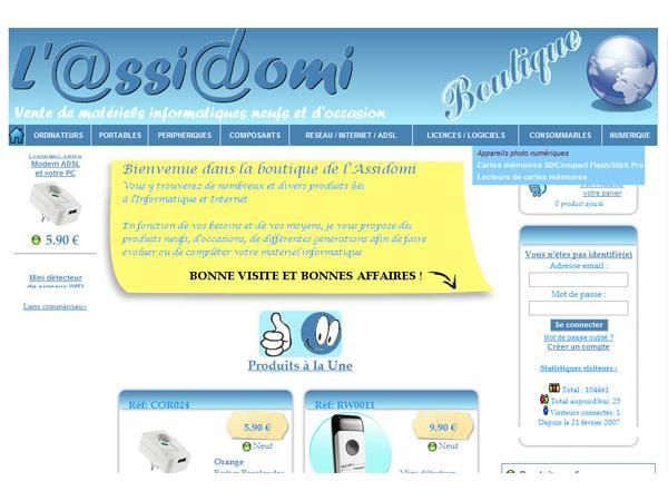 L'ASSIDOMI - Assistance Dépannage informatique à domicile