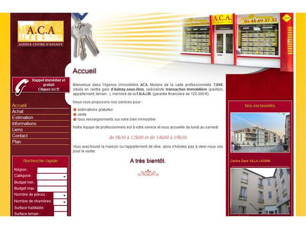 Agence Centre Aulnay Immobilier