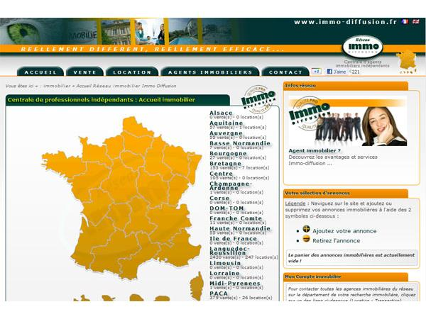 Immobilier : www.immo-diffusion.fr - Sud France