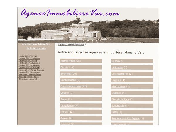 Agence Immobiliere Var