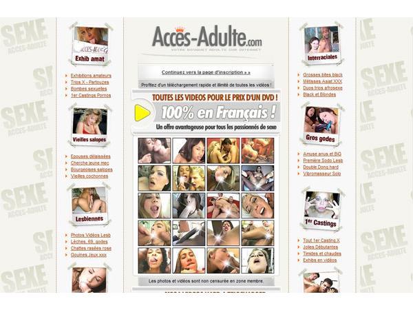 Portail Accès Adulte