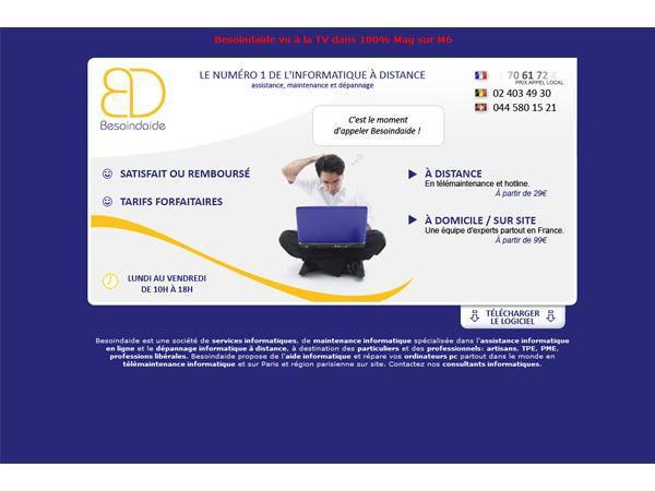 Besoindaide.com : dépannage informatique