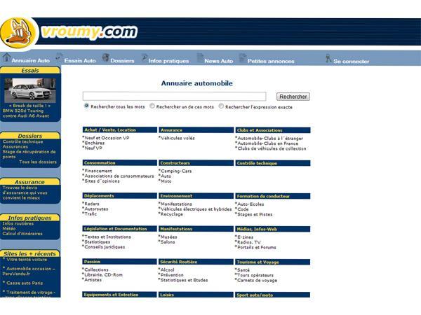 Vroumy.com - le portail automobile de référence
