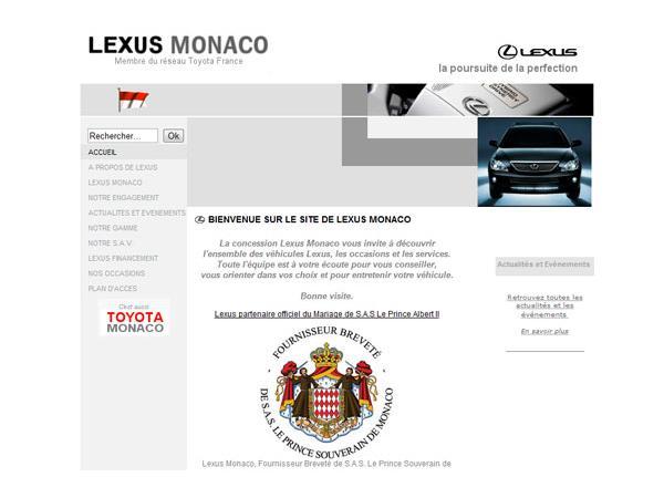 Lexus Monaco
