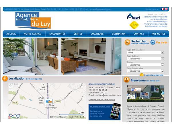 Agence Immobilière Du Luy