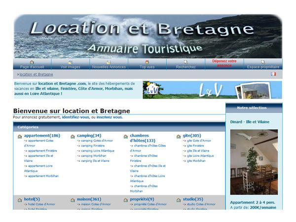 Location et Bretagne