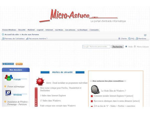 Micro-Astuce