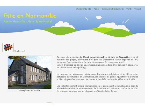 Gîte en Normandie