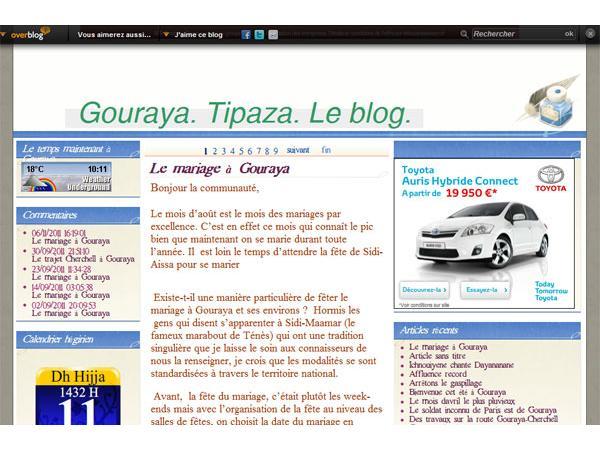 Gouraya.Tipaza. Algérie