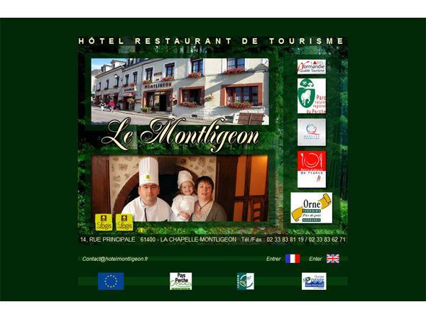 Hotel restaurant LE MONTLIGEON