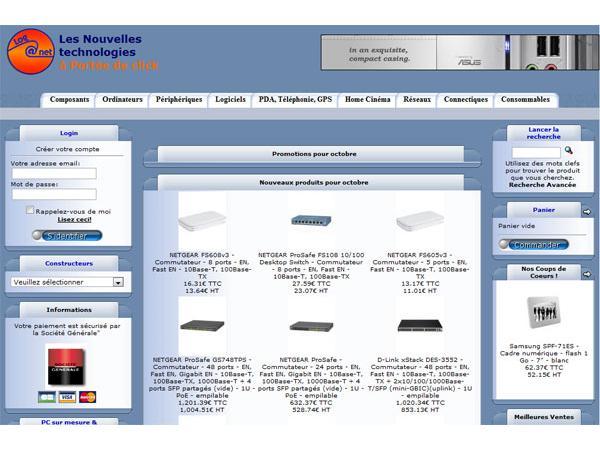 Loganet, spécialiste informatqiue - achat vente d'ordinateur