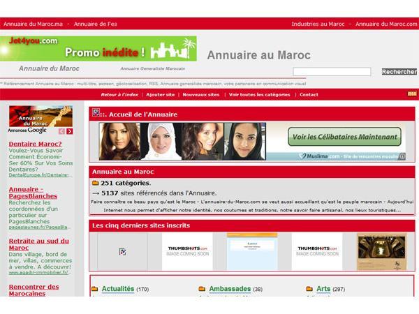 Annuaire du maroc