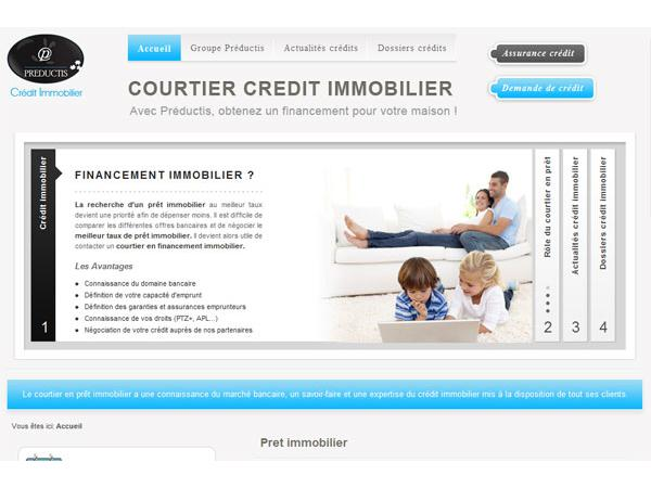 Courtier en credit immobilier
