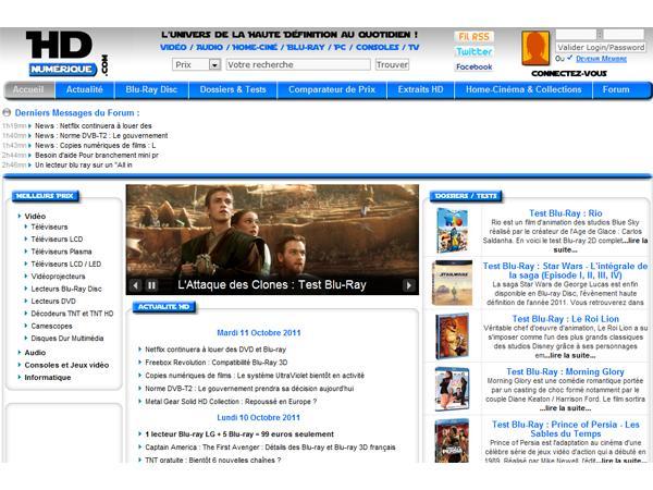 HD-Numérique, Matériel HD, HD-DVD et Blu-Ray