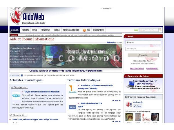 Aidoforum.com, Aide informatique et graphique