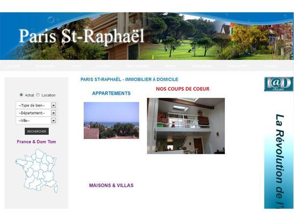 Immobilier Saint Raphaël, Fréjus, Ste Maxime