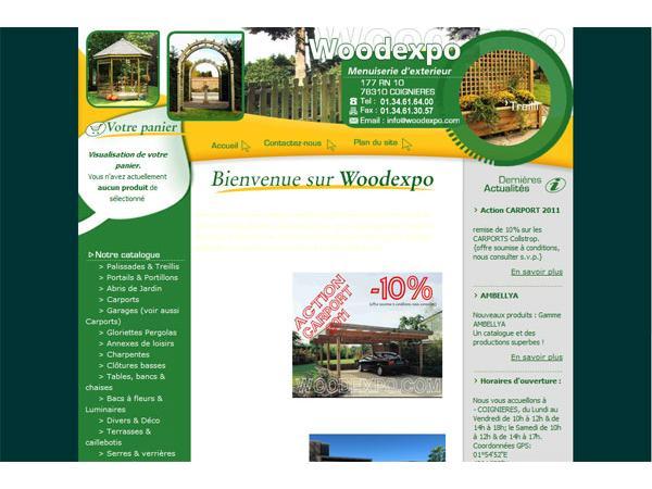 WoodExpo - Menuiserie d'extérieur
