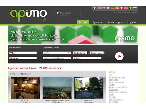 Apimo.com portail d'annonces immobilieres
