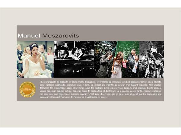Manuel Meszarovits auteur photographe